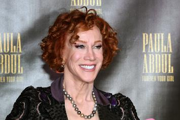 Kathy Griffin Advises Trump To Take A Syringe Filled With Air
