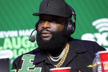 Rick Ross Joined By Trayvon Martin's Father At Miami Protest