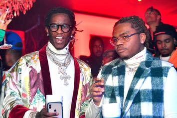 "Young Thug Responds To Gunna Video Shooting: ""We The Ones That Did It"""