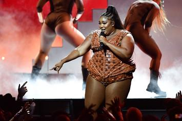 "Lizzo Slams ""Fat Shamers"" With Workout Video: ""Worry About Your Own Body"""