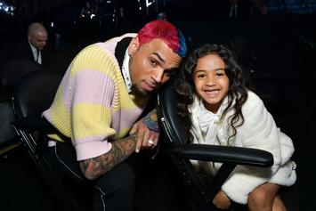 Chris Brown Shares Clip Of Royalty Making Her Own Black Lives Matter Sign