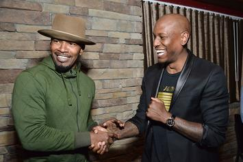 Jamie Foxx Slams Tyrese For Implying Anti-Black Racism Doesn't Exist