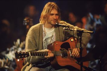 "Kurt Cobain's Guitar From ""MTV Unplugged"" Sells For $6.01 Million"