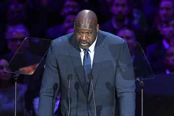 Shaq Details Running Into Tupac Wearing His Jersey