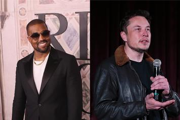 Kanye West & Elon Musk Link Up At Tesla CEO's Home