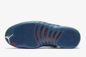 "Air Jordan 12 ""Stone Blue"" Release Date Revealed: Official Images"