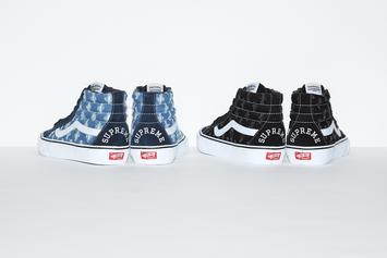 "Vans & Supreme Link For New ""Distressed Denim"" Pack"