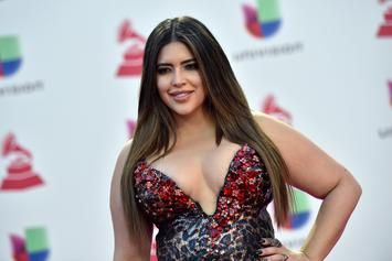 "Lil Wayne's GF Denise Bidot Embraces ""Stretch Marks, Rolls, & Cellulite"" In Bikini"