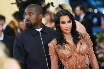 "Kim Kardashian ""Mortified"" By Kanye West's Rally: Report"