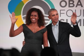 Michelle Obama First Podcast Guest Is Barack Obama