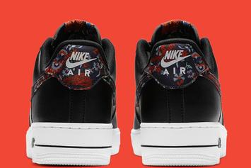 Nike Air Force 1 Low Receives Floral Swoosh: Photos