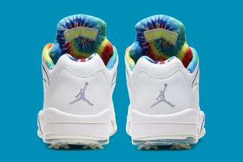 "Air Jordan 5 Golf ""Tie-Dye"" Coming Soon: Official Images"