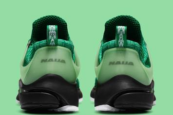 "Nike Air Presto ""Naija"" Pays Homage To Nigeria: Photos"