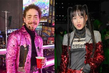 Post Malone Sparks Dating Rumors With Korean Rapper MLMA Over Flirty Pics