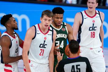Giannis Antetokounmpo Ejected For Flagrant 2 Headbutt On Moe Wagner