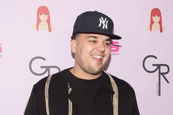 Rob Kardashian Shows Tremendous Weight Loss In Shirtless Pool Pic
