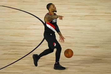 "Damian Lillard Drops ""Live From The Bubble"" EP, Fans React"