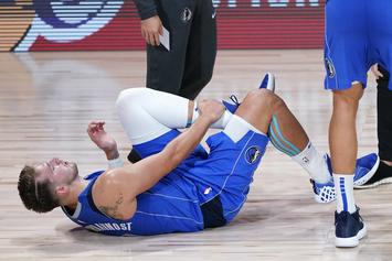 Luka Doncic Injury Status Updated Following Ankle Sprain