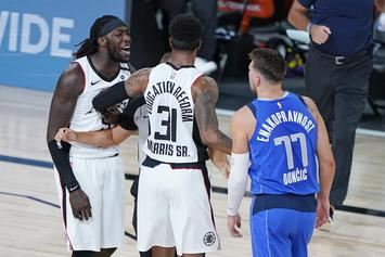 "Montrezl Harrell Apologizes To Luka Doncic For ""White Boy"" Comment"