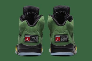 "Air Jordan 5 ""Oregon Ducks"" Officially Unveiled: Photos"