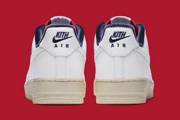 New Kith x Nike Air Force 1 Low Collab Surfaces Online: First Look