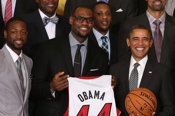 LeBron James Praises Barack Obama, Wishes He Was Still President