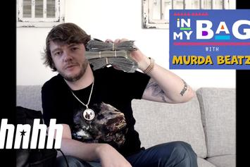Murda Beatz Keeps Sake & An Xbox Controller In His Bag