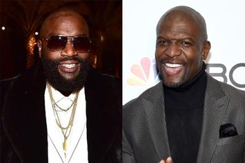 """Rick Ross Disses Terry Crews Again: """"C**nville"""""""