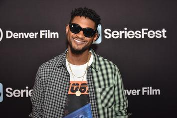 "Usher Confirms GF Jenn Goicoechea's Pregnancy, Says Sons Are ""Excited"""
