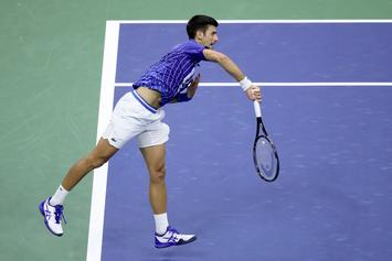 Novak Djokovic Disqualifies From US Open For Hitting Line Judge With Tennis Ball