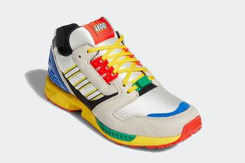 LEGO x Adidas ZX 8000 Officially Unveiled: Photos