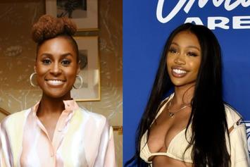 "SZA Jokingly Tells Issa Rae She Doesn't Drink Because She Ends Up ""Crying & Sh*t"""