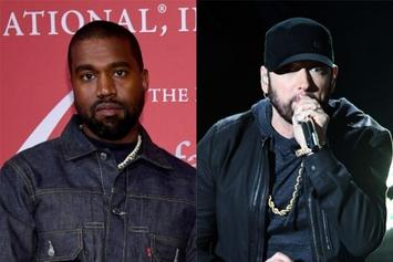 "Kanye West Reveals Eminem & Dr. Dre Remix Of ""Use This Gospel"""