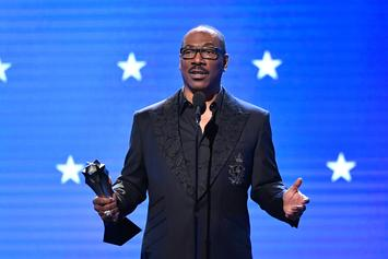 "Eddie Murphy Wins Emmy For Acclaimed ""Saturday Night Live"" Appearance"