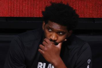 Joel Embiid Welcomes First Child Into The World