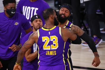 LeBron James Comments On His Role In Lakers Finals Appearance