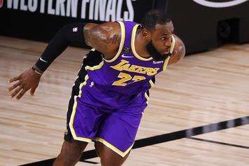 This Is What LeBron James Told The Lakers Prior To Game 5 Takeover