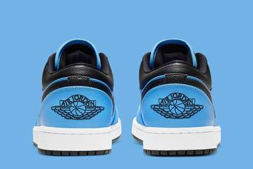 "Air Jordan 1 Low Gets ""University Blue"" Makeover: Photos"
