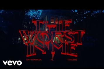 "Kaytranada Drops Off Spooky Visuals for ""The Worst In Me"" Starring Tinashe"