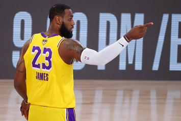 "LeBron James Explains What ""Mamba"" Jerseys Mean To The Lakers"