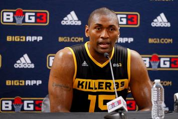 """Metta World Peace Claps Back At Stephen A. Smith's """"Soft Era"""" Take"""