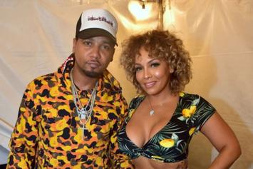 Juelz Santana Helps Wife Kimbella Promote Her OnlyFans Account