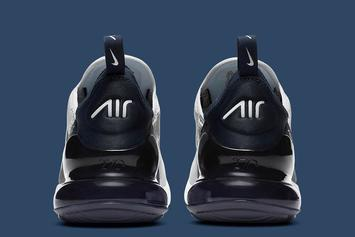 """Nike Air Max 270 Goes """"Midnight Navy:"""" Official Images"""