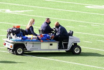 Giants' C.J. Board Immobilized After Dangerous Hit