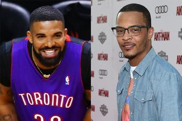 Drake Unfollows T.I. After Pee Claim