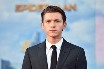 """Tom Holland Shares First Look At """"Uncharted"""" Movie"""