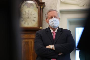 Mark Meadows Admits White House Will Not Control The COVID-19 Outbreak