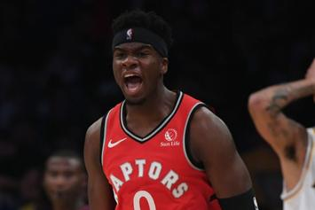 Raptors Baller Terence Davis Arrested For Slapping GF During Argument
