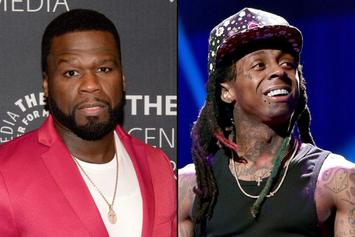 """50 Cent Reacts To Lil Wayne's Photo Op With President Trump: """"Oh No"""""""