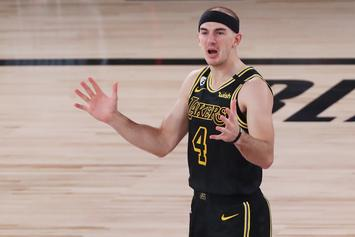 "Alex Caruso Has An Odd Description Of MJ's ""The Last Dance"""